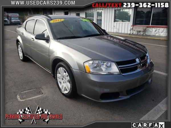 2012 Dodge Avenger in Ft Myers, FL