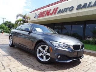 Used 2015 BMW 4 Series 428i Coupe SULEV For Sale In West Park FL