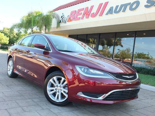 2015 Chrysler 200 in West Park, FL