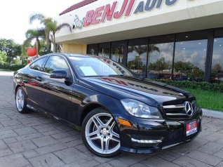 Used 2015 Mercedes Benz C Class C 250 Coupe RWD For Sale In West