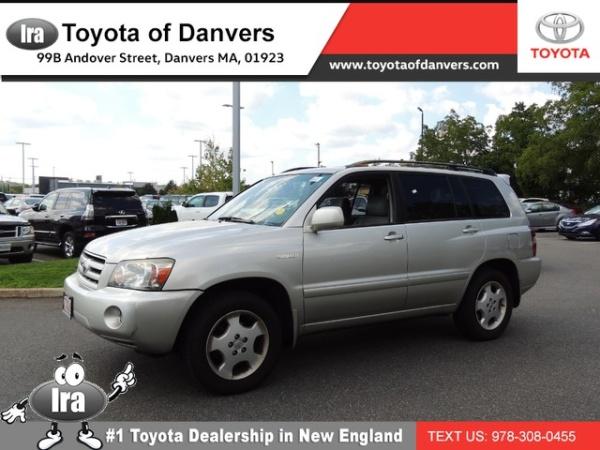 2005 Toyota Highlander 4dr V6 4WD Limited W/3r.