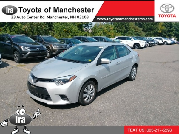 2016 Toyota Corolla in Manchester, NH