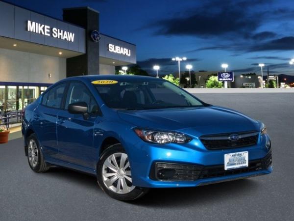 2020 Subaru Impreza in Denver, CO