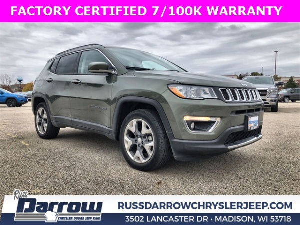 2019 Jeep Compass in Madison, WI