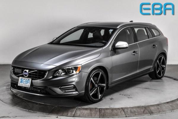 2016 Volvo V60 T6 R-Design Platinum