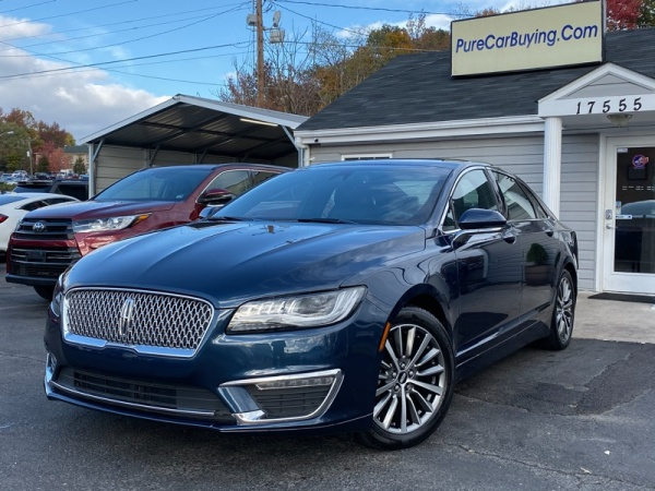 2017 Lincoln MKZ Hybrid Select