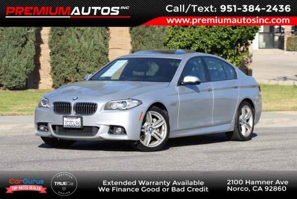 2014 BMW 5 Series in Norco, CA