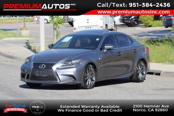 2016 Lexus IS in Norco, CA