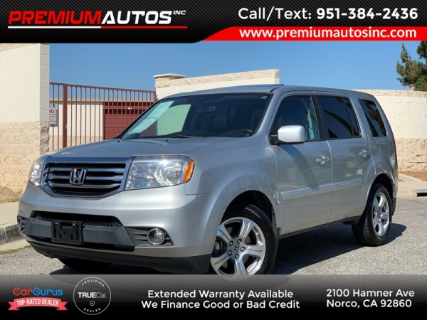 2015 Honda Pilot EX-L with Navigation FWD For Sale in Norco