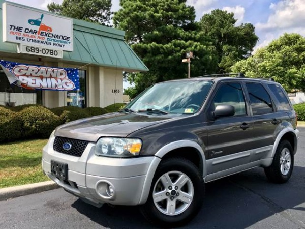 2005 Ford Escape Hybrid 23l Fwd For Sale In Virgina Beach Va Truecar