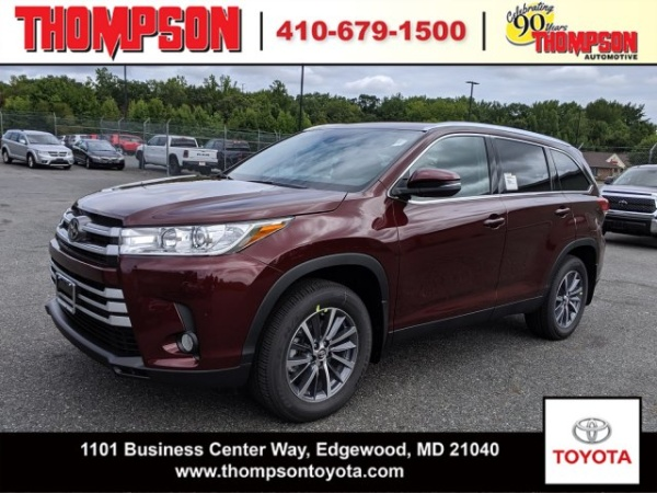 2019 Toyota Highlander in Edgewood, MD