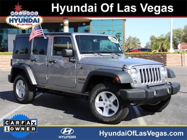 2018 Jeep Wrangler in Las Vegas, NV