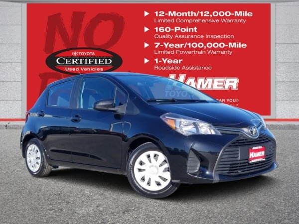 Toyota Mission Hills >> 2017 Toyota Yaris L 5 Door Liftback Automatic For Sale In