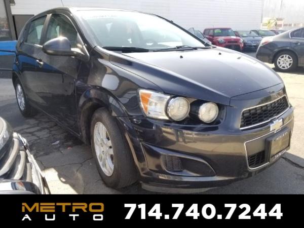 2014 Chevrolet Sonic in La Habra, CA