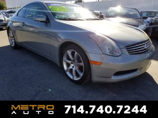 2003 Infiniti G G35 Coupe Automatic For In La Habra Ca