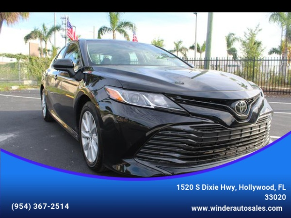 2018 Toyota Camry In Hollywood Fl