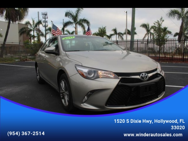 2017 Toyota Camry In Hollywood Fl