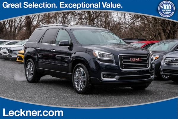 Used Cars For Sale In Northern Va: Used GMC Acadia For Sale In Fairfax, VA