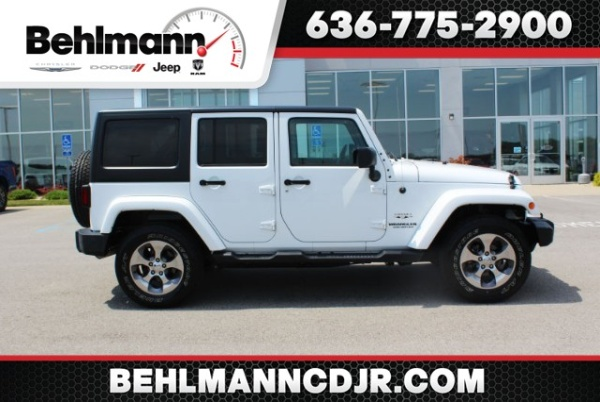 2016 Jeep Wrangler in Troy, MO