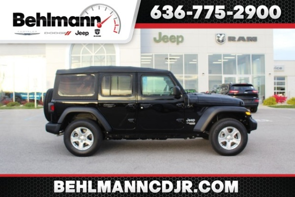 2020 Jeep Wrangler in Troy, MO