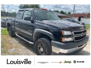 2007 chevrolet silverado 2500hd classic work truck extended cab standard  box 4wd for sale in louisville