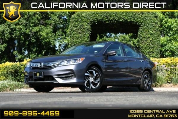 2016 Honda Accord in Montclair, CA