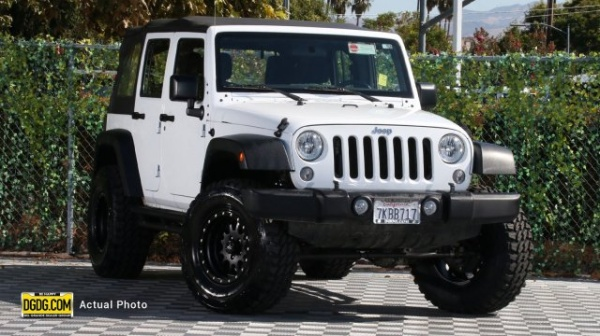2015 Jeep Wrangler in San Jose, CA