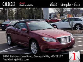 2017 Chrysler 200 Touring Convertible For In Owings Mills Md