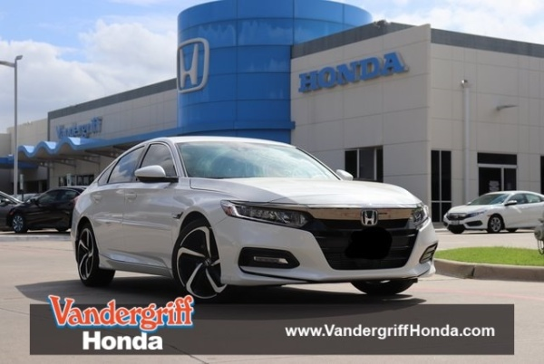 2018 Honda Accord in Arlington, TX