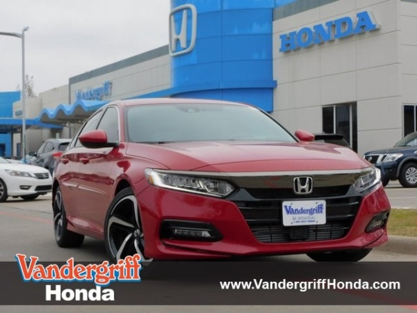 2020 Honda Accord in Arlington, TX