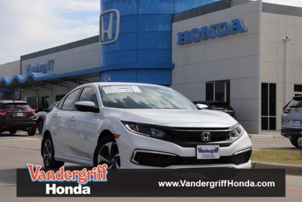 2020 Honda Civic in Arlington, TX