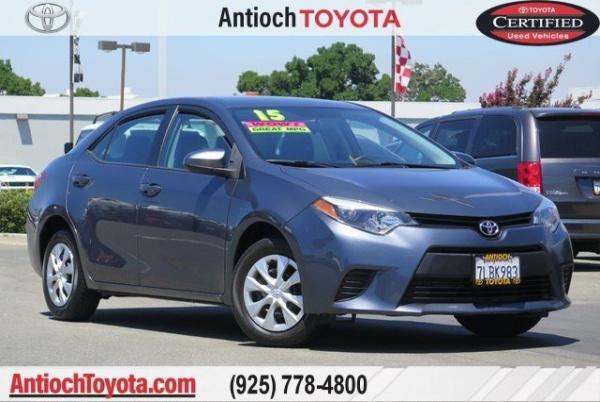 2015 Toyota Corolla in Antioch, CA