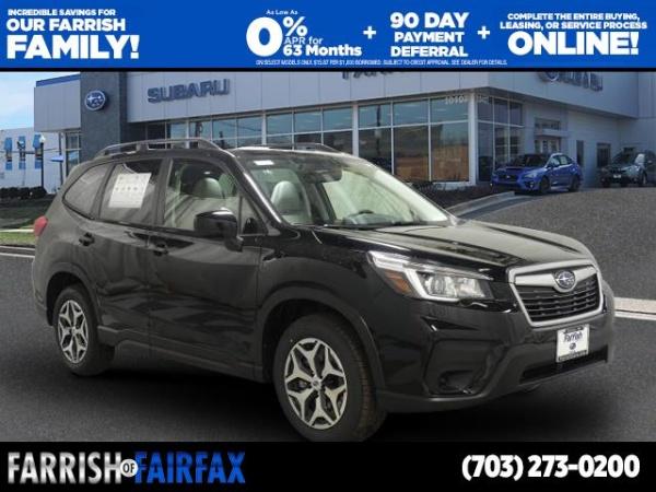 2020 Subaru Forester in Fairfax, VA