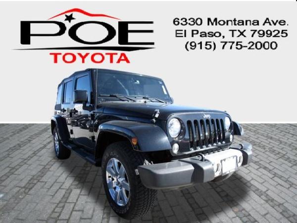2015 Jeep Wrangler in El Paso, TX