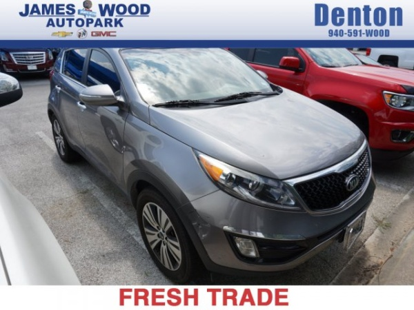 2015 Kia Sportage in DENTON, TX
