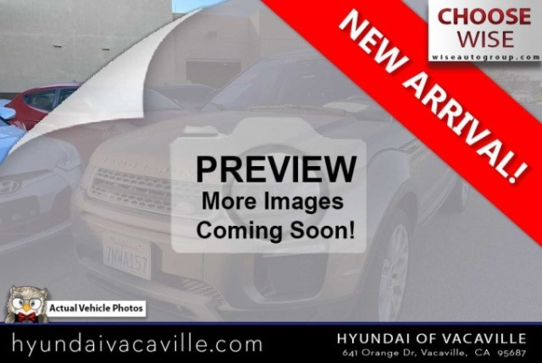 2016 Land Rover Range Rover Evoque in Vacaville, CA