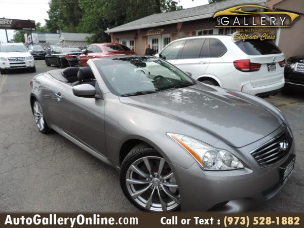 2009 Infiniti G G37 Base Convertible Rwd Automatic For