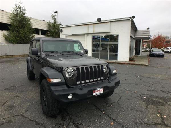 2018 Jeep Wrangler in Bellevue, WA