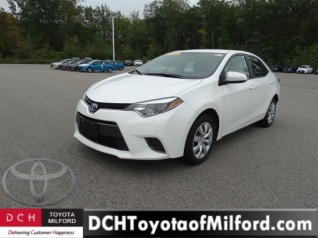 Used 2016 Toyota Corolla S CVT For Sale In Milford, MA