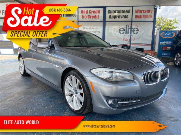 2011 BMW 5 Series in Fort Lauderdale, FL
