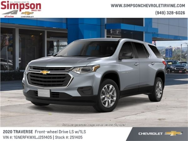 2020 Chevrolet Traverse in Irvine, CA