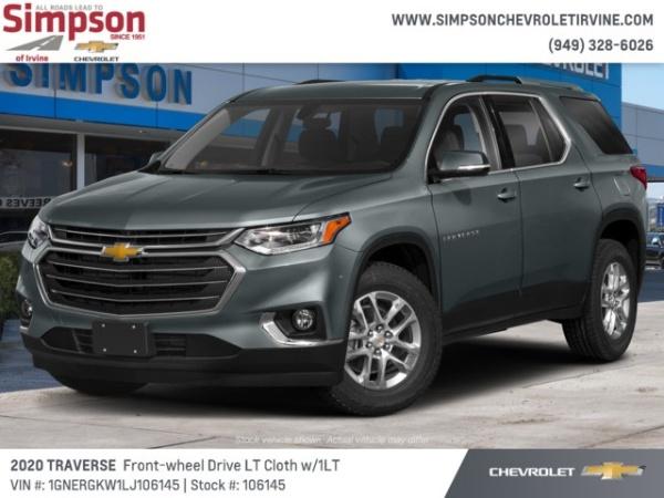 2020 Chevrolet Traverse in Irvine, CA