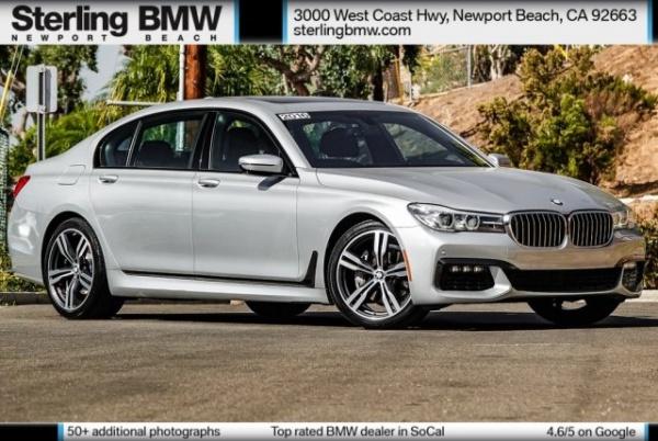 2016 BMW 7 Series in Newport Beach, CA