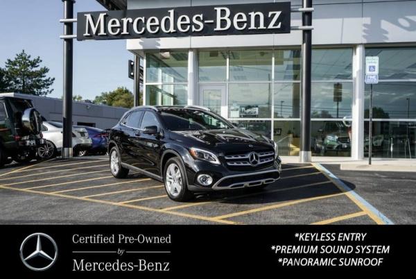 2019 Mercedes-Benz GLA-Class GLA 250 4MATIC