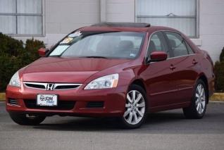2007 Honda Accord Ex L V6 Sedan Automatic For In Fredericksburg Va
