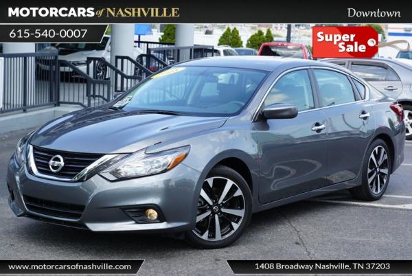 Motorcars Of Nashville >> 2018 Nissan Altima 2 5 Sr For Sale In Nashville Tn Truecar