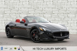 2017 Maserati Granturismo Sport Convertible For In Austin Tx
