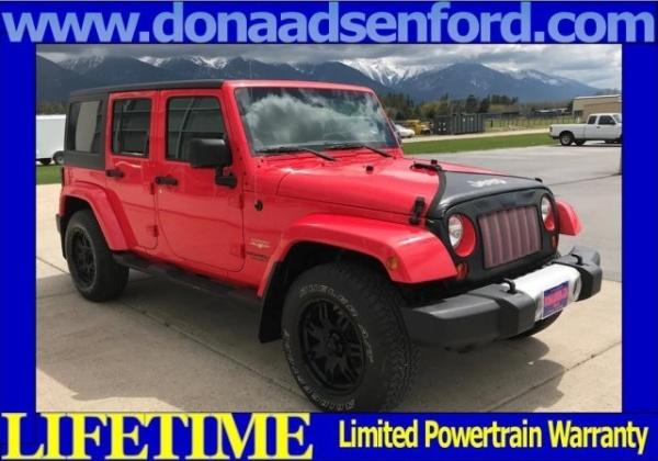 2013 Jeep Wrangler in Ronan, MT