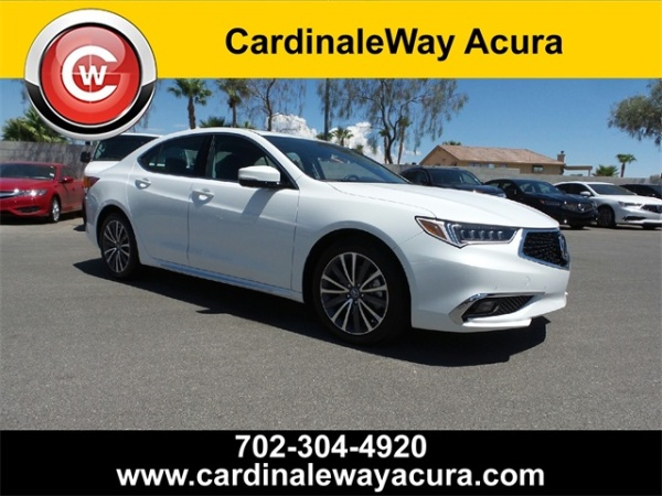 2018 Acura TLX 3.5L FWD with Advance Package