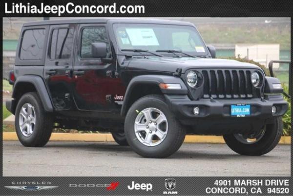2020 Jeep Wrangler in Concord, CA